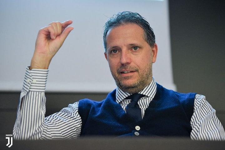 画像:スカイ・イタリアのインタビューに応じたパラティーチCFO