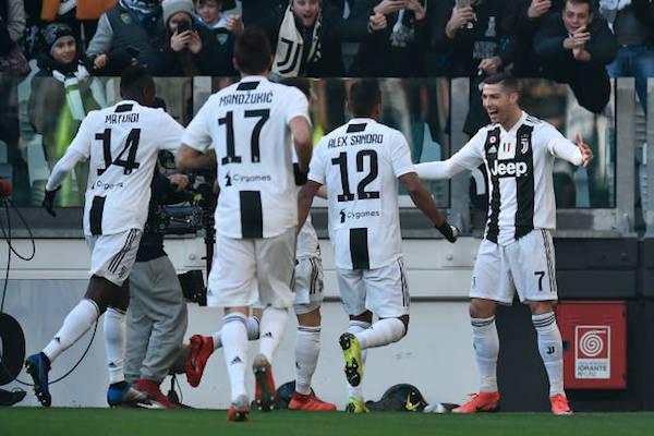 画像:Juventus 2018/19 シーズン