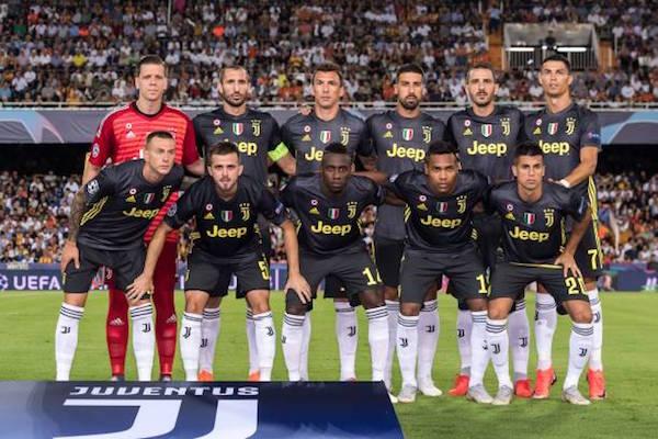 画像:Juventus - 2018/19 UEFA CL
