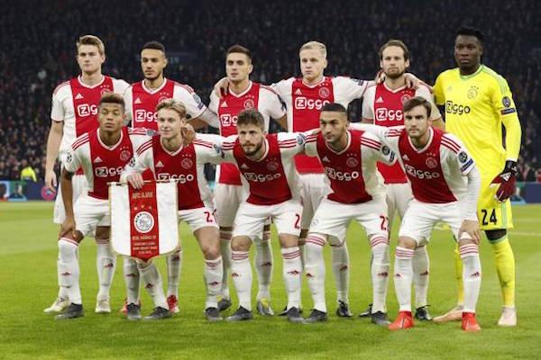 画像:AJAX - 2018/19 UEFA CL
