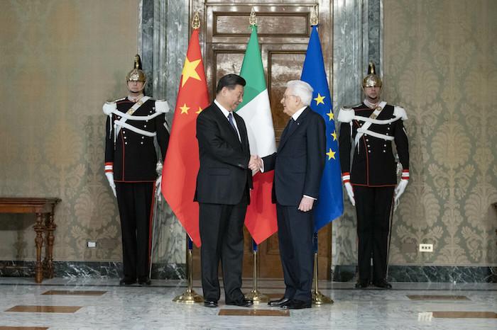 画像:イタリアを訪問した習近平総書記