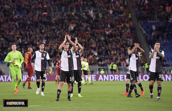 画像:ローマに 2-0 で敗れたユベントス
