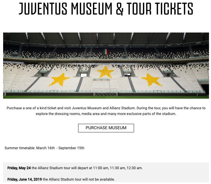 画像:見学ツアーの申込画面