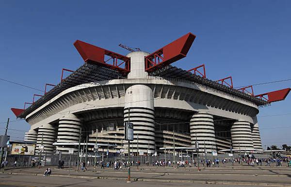 画像:スタディオ・ジュゼッペ・メアッツァの外観