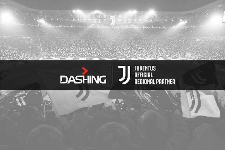 画像:Dashing x Juventus