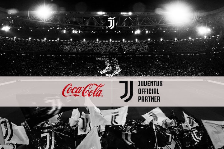 画像:Coca Cola x Juventus