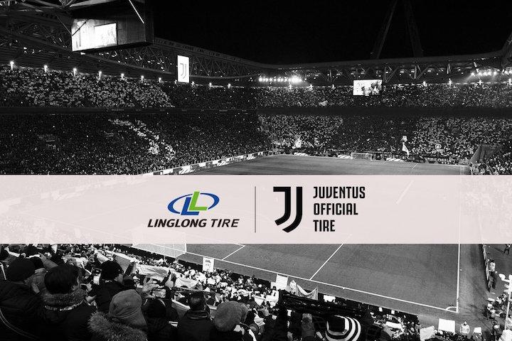 画像:LingLong Tire x Juventus