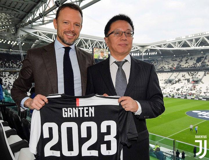 画像:Ganten x Juventus