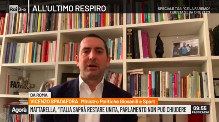 画像:ビンチェンツォ・スパダフォラ大臣