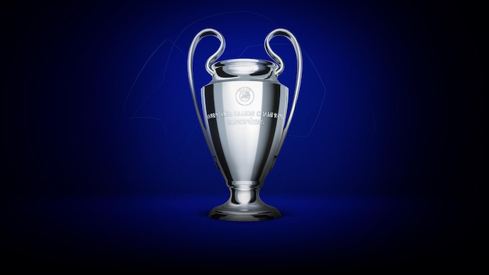 画像:UEFA Champions League Trophy