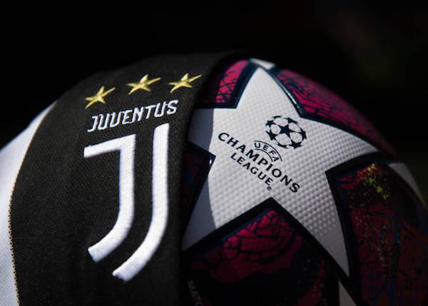 画像:Juventus x Champions League