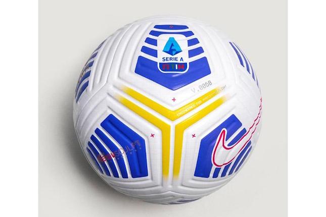 画像:2020/21シーズンのセリエA公式球