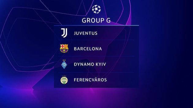 画像:2020/21 UEFA Champions League - Group G
