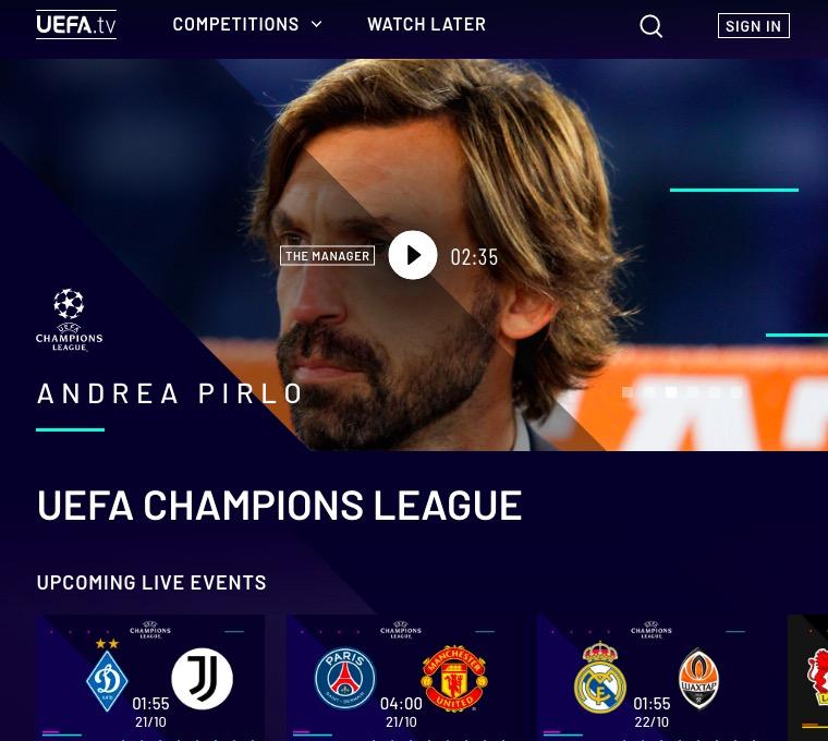 画像:UEFA.tv