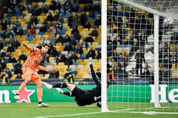 画像:公式戦2試合連続ゴールでチームを牽引したモラタ