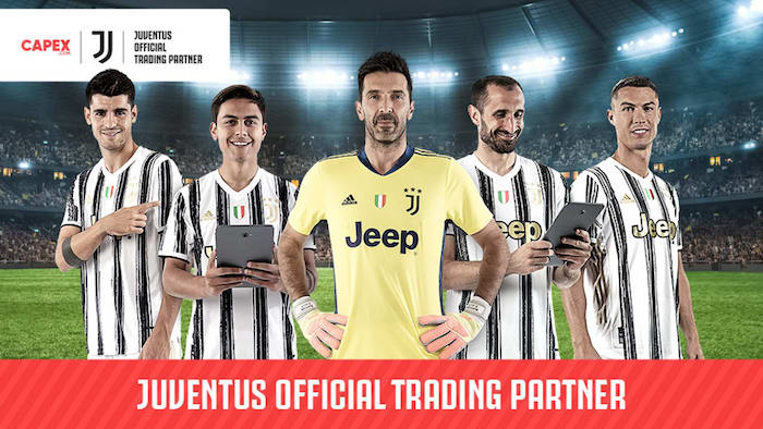 画像:CAPEX.com x Juventus