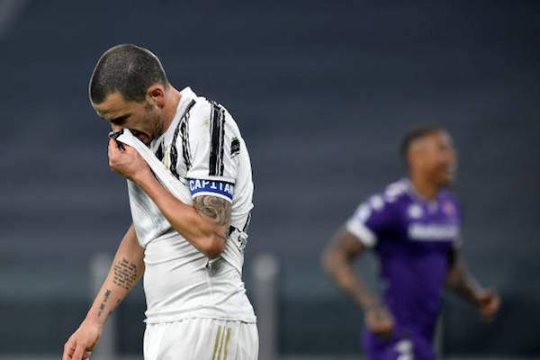 画像:フィオレンティーナに今季リーグ戦の初黒星を喫したユベントス