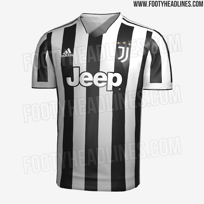 画像:2021/22 Juventus 1st Kit, LEAK