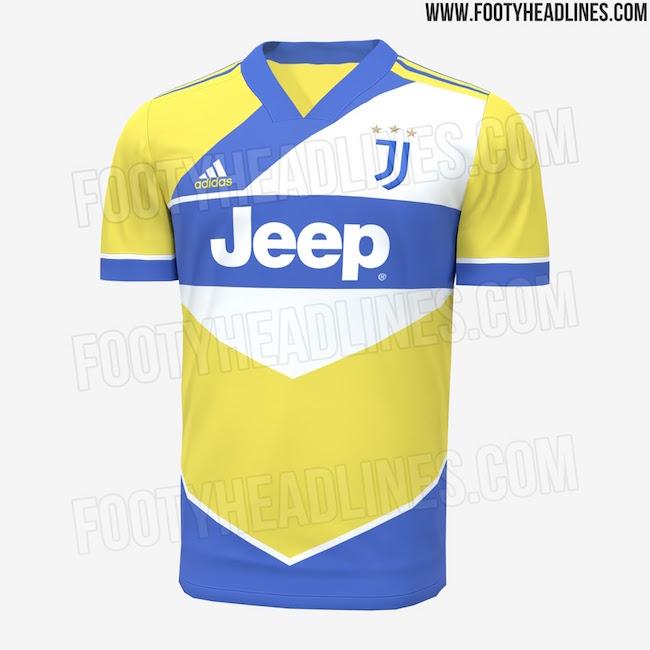 画像:2021/22 Juventus 3rd Kit, LEAK