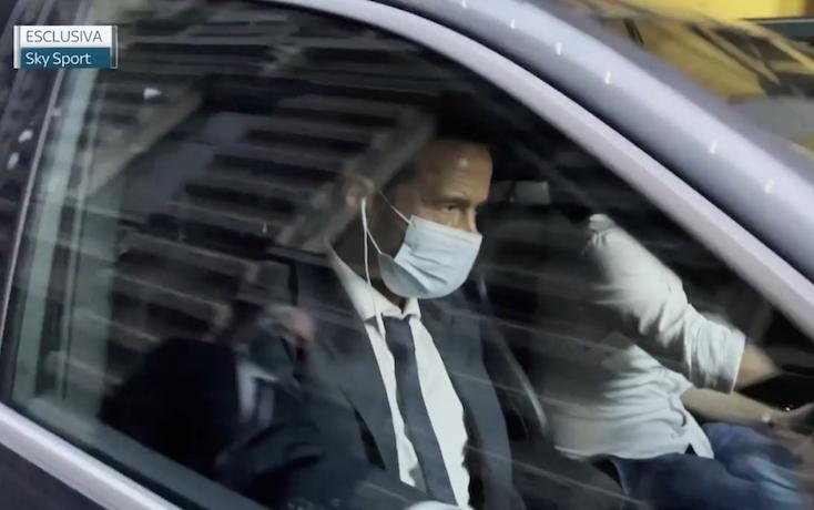 画像:ミラノを電撃訪問したメンデス氏