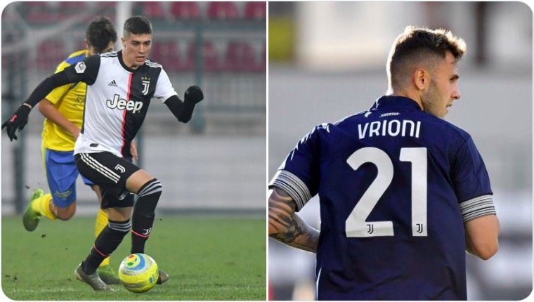 画像:期限付き移籍が発表されたザニマッキアとヴリオーニ
