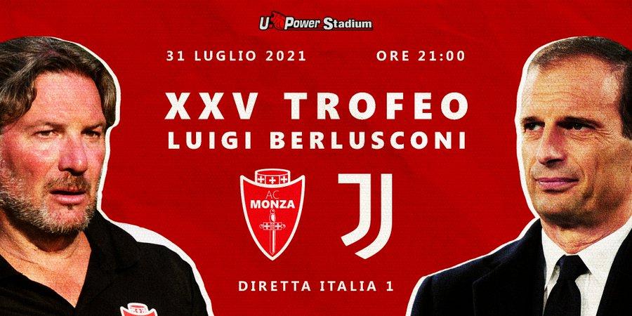 画像:親善試合・モンツァ対ユベントス