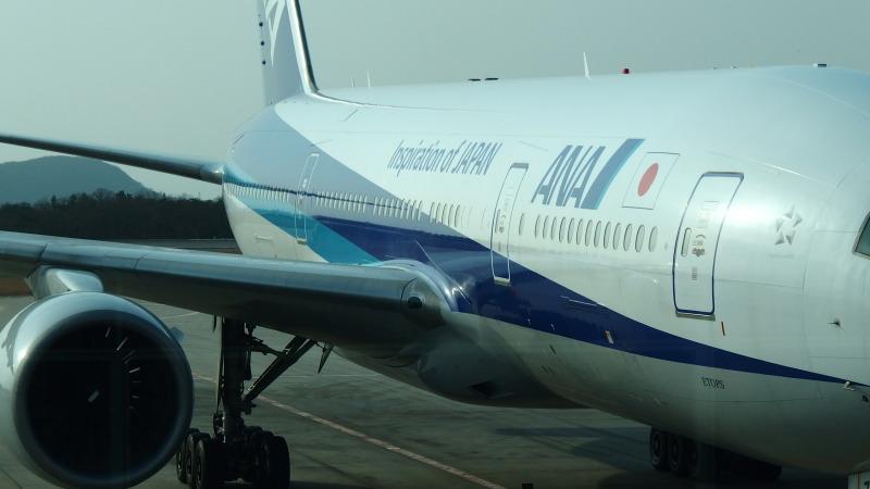 広島空港 ANA B7