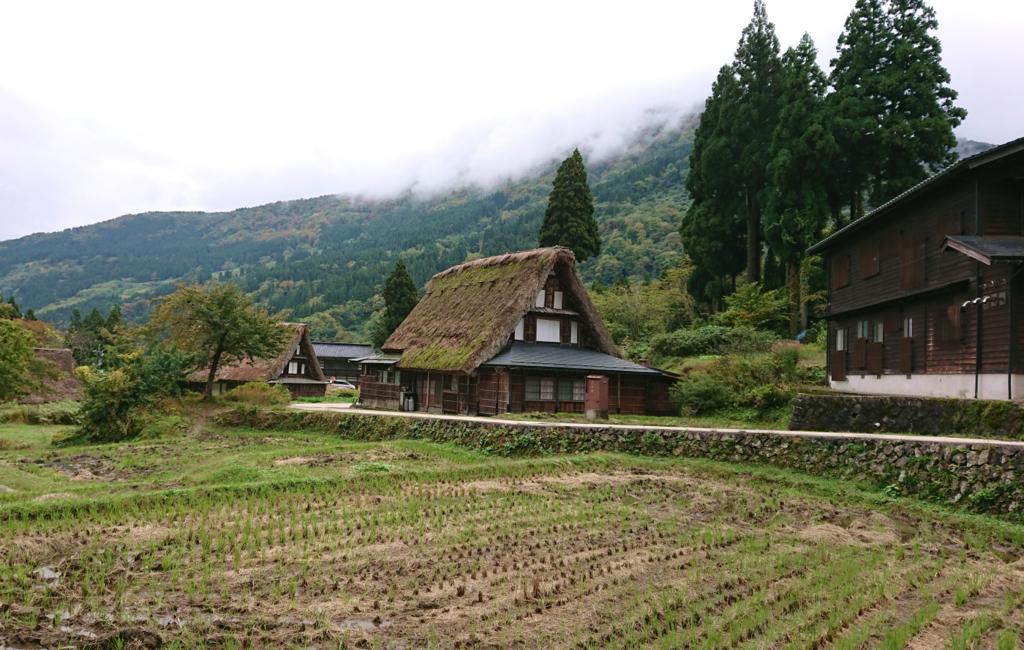 五箇山合掌造り集落の風景1