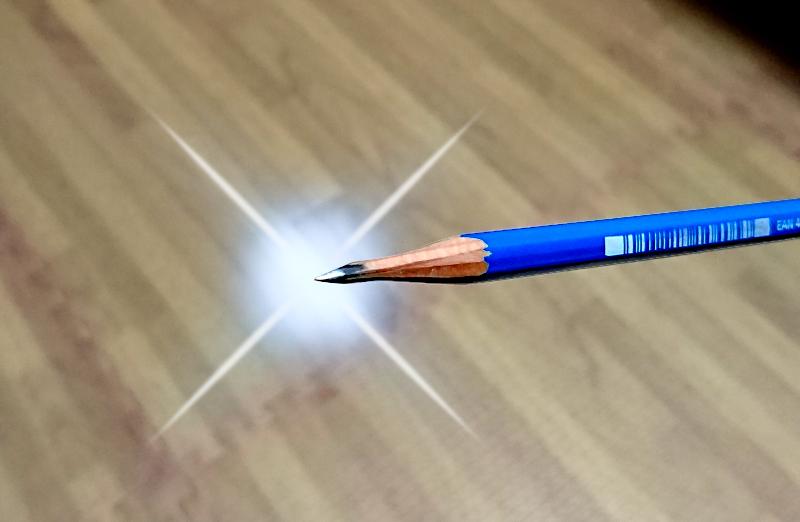 磨かれた鉛筆