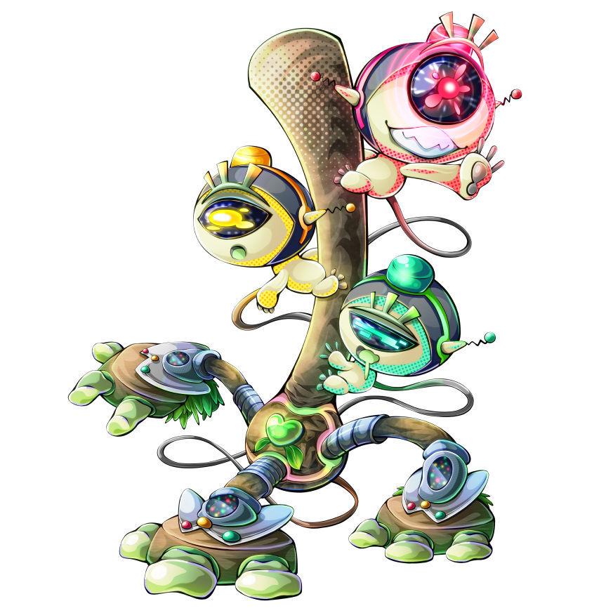 信号機のキャラクター