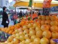 [フランス][果物][オレンジ][市場][朝]Rennes ~ Marché Place des Lices 1.