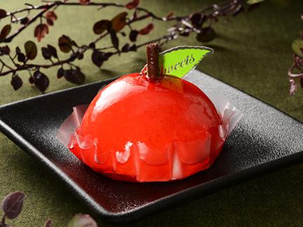 真っ赤なリンゴ♪