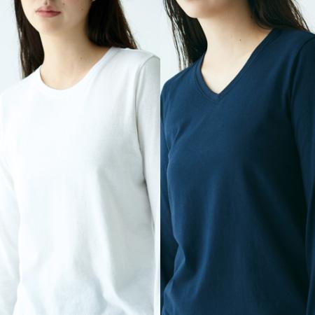 オーガニックコットンTシャツ(半袖・長袖)