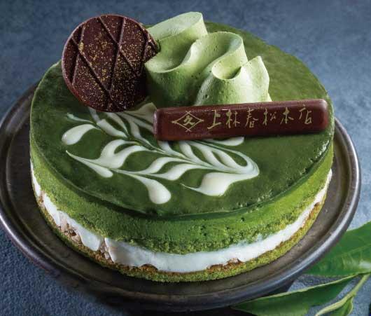 上林春松本店監修 抹茶のクリスマスケーキ♪