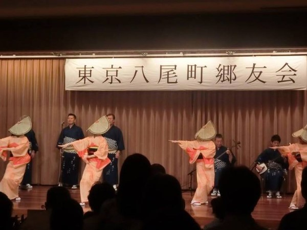 東京八尾郷友会様によるおわら風の盆