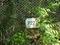 長尾台ー玉縄間に残る橋脚番号の看板
