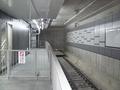 [東京メトロ]副都心線渋谷駅 この壁が壊されるのは4年後