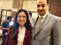 Mohamed Dekkak and Her Excellency Lana Nusseibeh Permanent Representative UAE to the United Nati