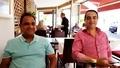 Mohamed Dekkak and H.E Hamad Nasser and Ahmad bouhlal at Puetro Banus, Marbella Spain, Marbella