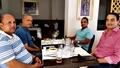  2s Mohamed Dekkak and his excellency Alasri aldhahri, H.E Hamad Nasser and Ahmad bouhla