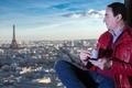 Mohamed Dekkak at Eiffel Tower Paris France #mohameddekkak #dekkak #toureifel #eifeltower #eiffe