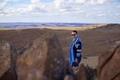Mohamed Dekkak at Atlas Mountains