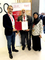 Mohamed Dekkak and His Excellency Habib Ghanim receiving Accreditation Certificate Read More: ht