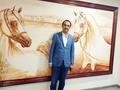 Mohamed Dekkak attends the 20th Sharjah International Arabian Horse Festival 2019