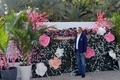 Mohamed Dekkak exploring Art Dubai 2019 at Madinat Jumeirah Dubai