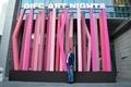 Mohamed Dekkak at Art Nights Dubai at Dubai International Financial Centre (DIFC)