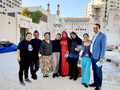 Mohamed Dekkak with Super Woman Filippino Band