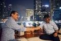 Mohamed Dekkak & Abderrahim Khaoutem having the Sea adventure on exotic Yacht at Dubai #luxurybo