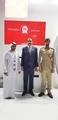 Mohamed Dekkak and Abderrahim Khaoutem attend GISEC at Dubai World Trade Center #GISEC #smartpol