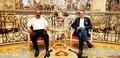 Mohamed Dekkak with Abderrahim Khaoutem at Emerald Palace Kempinski Dubai